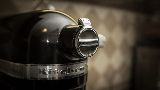 robot kitchenaid artisan detail