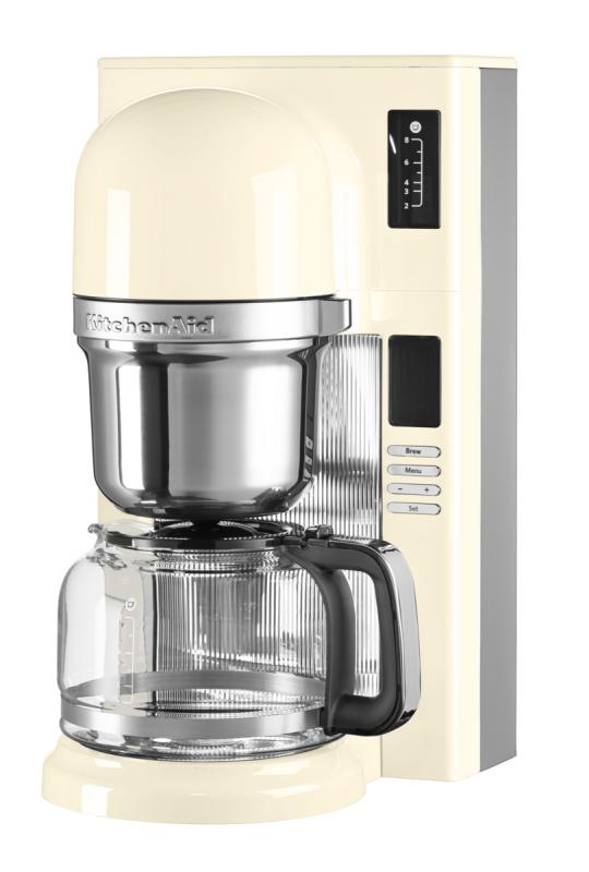 KitchenAid kávovar na přelévanou kávu 5KCM0802EAC mandlová