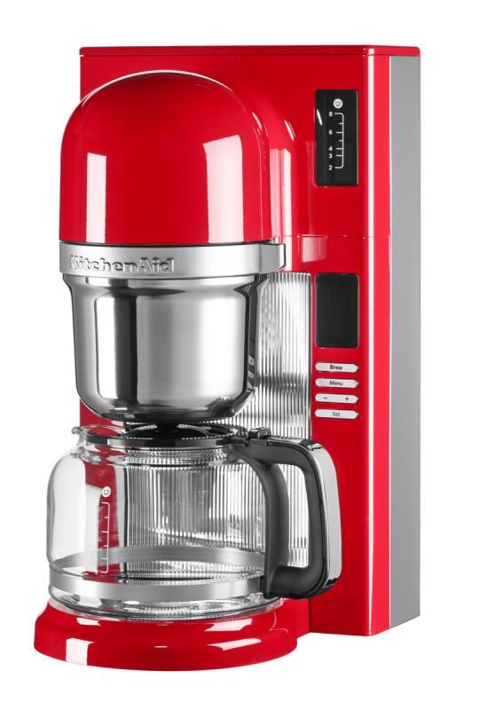 KitchenAid kávovar na přelévanou kávu 5KCM0802EER královská červená