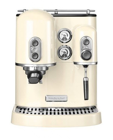 KitchenAid Artisan pákový espresso kávovar 5KES2102EAC mandlová
