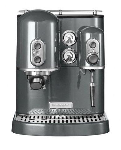 KitchenAid Artisan pákový espresso kávovar 5KES2102EMS stříbřitě šedá
