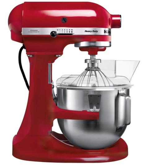 KitchenAid Heavy Duty kuchyňský robot 5KPM5EER královská červená + Akční set KitchenAid balíček s příslušenstvím FPPC