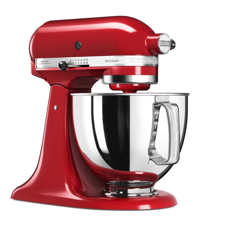 KitchenAid Artisan kuchyňský robot 5KSM125EER královská červená + Akční set KitchenAid balíček s příslušenstvím FPPC