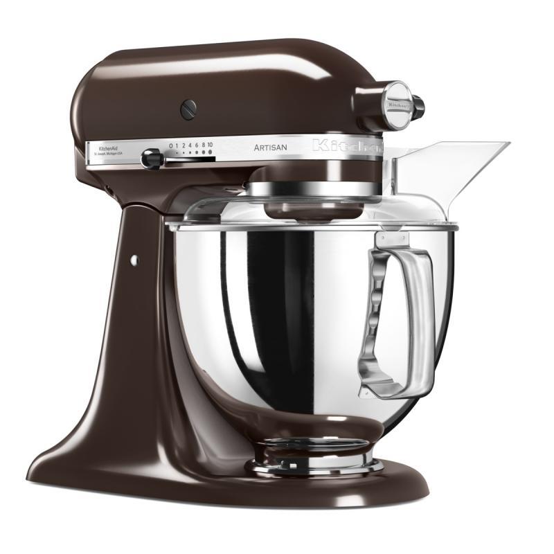 KitchenAid Artisan kuchyňský robot 5KSM175PSEES kávová + Akční set KitchenAid balíček s příslušenstvím FPPC