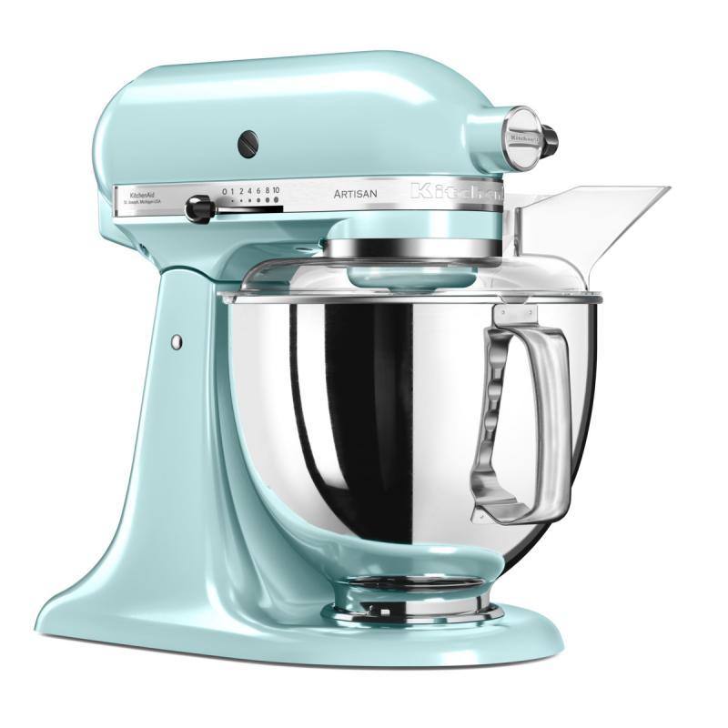 KitchenAid Artisan kuchyňský robot 5KSM175PSEIC ledová modrá + Akční set KitchenAid balíček s příslušenstvím FPPC