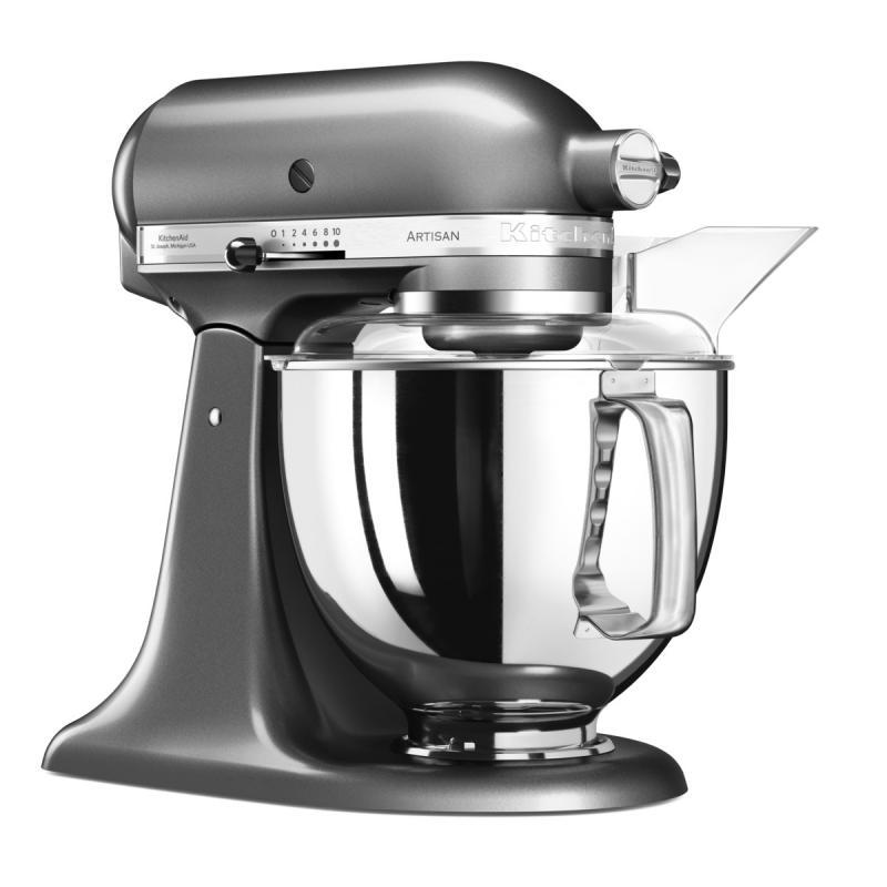 KitchenAid Artisan kuchyňský robot 5KSM175PSEMS stříbřitě šedá + Akční set KitchenAid balíček s příslušenstvím FPPC