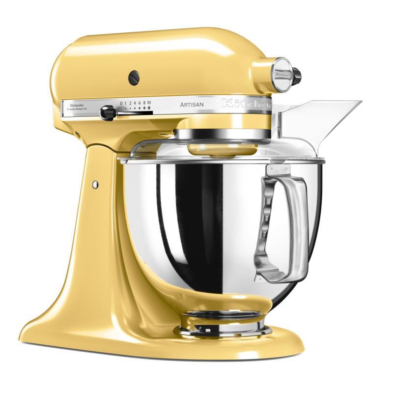 KitchenAid Artisan kuchyňský robot 5KSM175PSEMY žlutá + Akční set KitchenAid balíček s příslušenstvím FPPC