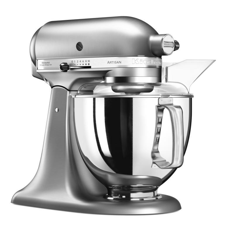 KitchenAid Artisan kuchyňský robot 5KSM175PSENK broušený nikl + Akční set KitchenAid balíček s příslušenstvím FPPC