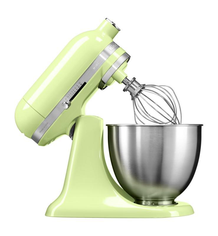 KitchenAid Artisan Mini kuchyňský robot 5KSM3311XEHW medová rosa + Akční set KitchenAid balíček s příslušenstvím FPPC