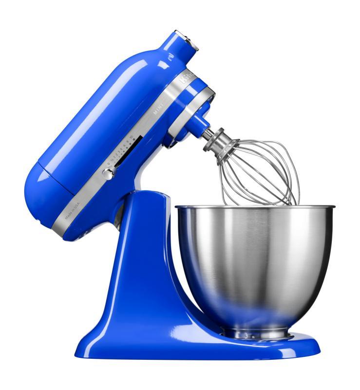 KitchenAid Artisan Mini kuchyňský robot 5KSM3311XETB soumračně modrá + Akční set KitchenAid balíček s příslušenstvím FPPC