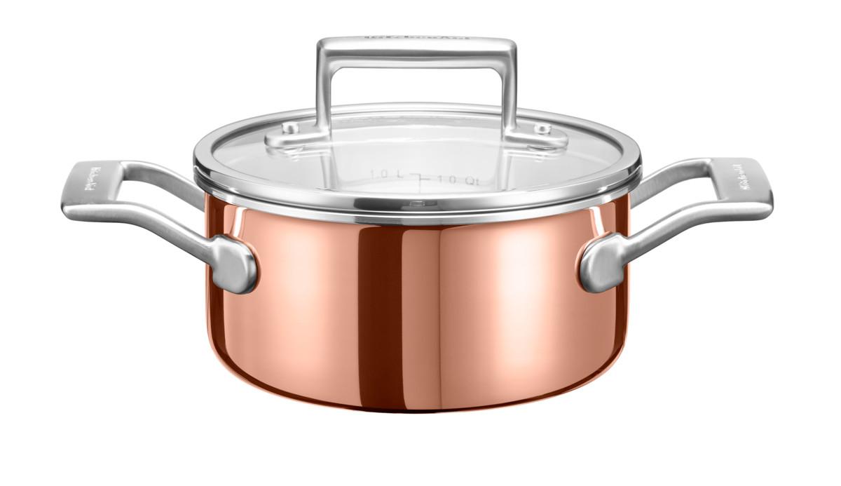 KitchenAid hrnec s poklicí 1,5l, 16 cm