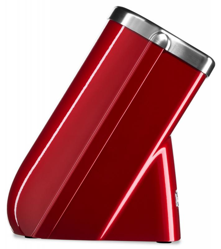 KitchenAid Blok na nože, 10 slotů, červená metalíza KKFMA01CA