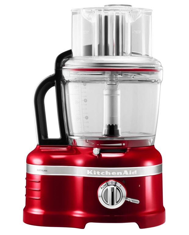 KitchenAid Artisan 5KFP1644ECA food processor, červená metalíza